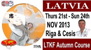 LTKF Autumn Course Thu 21 - Sun 24 Nov 2013
