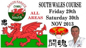 South Wales Course Fri 29 - Sat 30 November 2013
